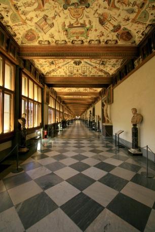 Giorgio Vasari's Uffizi museum