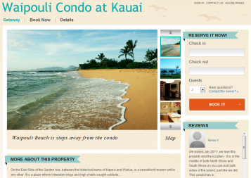 Waipouli Condo at Kauai Website powered by Rentini