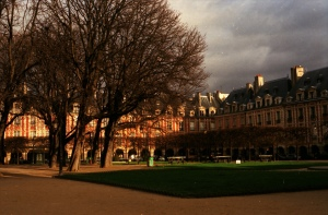 The beautiful Place des Vosges