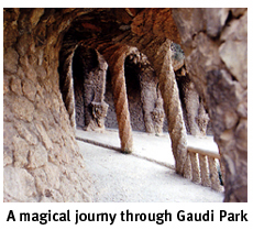A magical journey through Gaudi Park