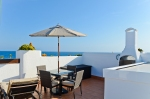 Spanish oceanfront villa in sunny Costa del Ameria.