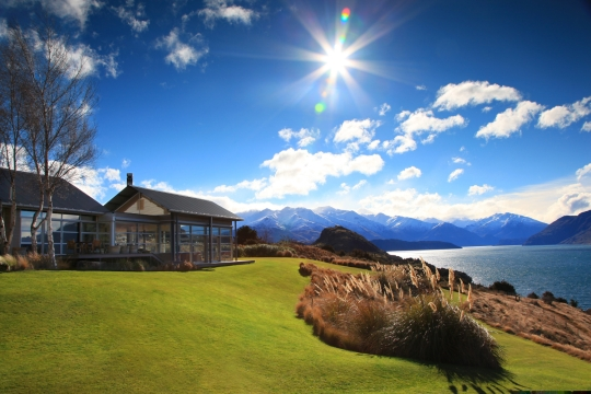 Luxury Whare Kea Lodge in Wanaka New Zealand