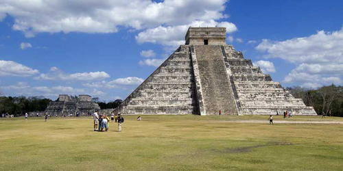 El Castillo -  The Castle, Chichen Itza; Yucatan, Mexico