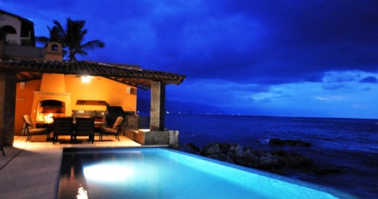 Puerto Vallarta luxurious beachfront villa
