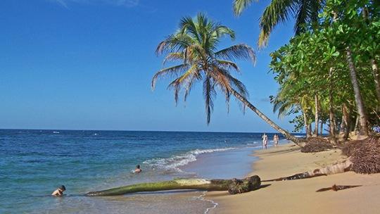 Arrecife Beach Puerto Viejo Costa Rica