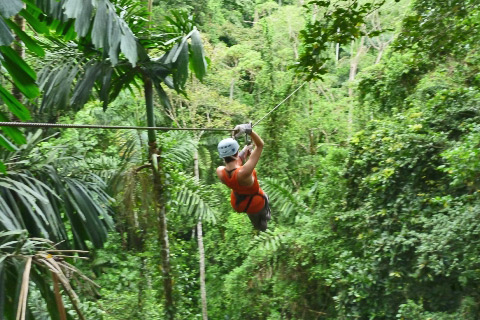Zipline at Puerto Viejo Costa Rica