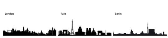 City Skylines Paris London Berlin