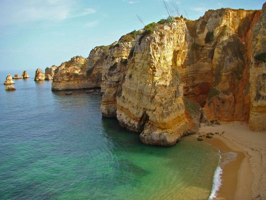 Dona Ana Beach. Algarve, Portugal