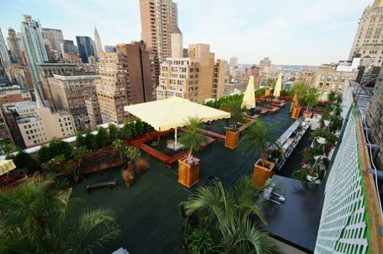 230 Fifth Rooftop Bar in New York city's Flatiron
