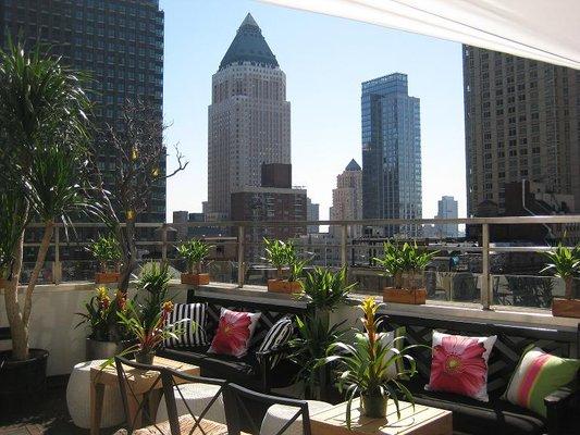 AVA Lounge Rooftop Bar New York City