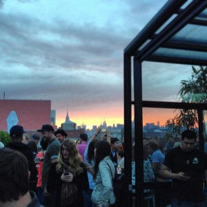 Berry Park Rooftop Bar at Brooklyn
