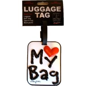 Love my bag luggage tag