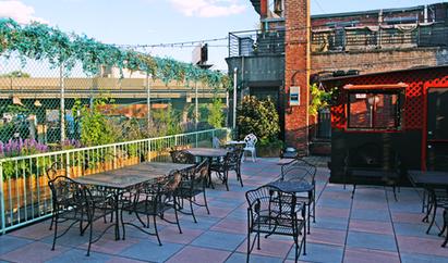 Night of Joy Rooftop bar in Brooklyn