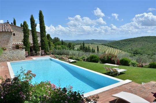Spicchio villa in Tuscany