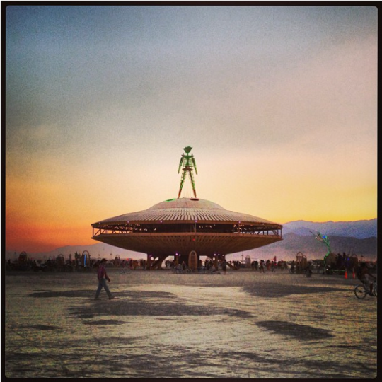 Burning Man 2013 BM UFO by caseyklein11