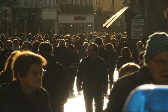 Street scene in Galway