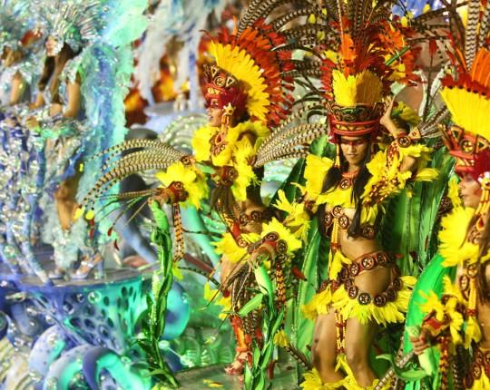 Rio De Janeiro Carnival competition