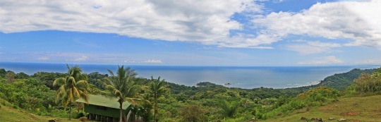 Panoramic view from Bella Vista Lodge in Costa Rica