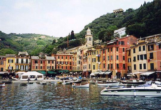 Portofino Harbor Italian Rivera