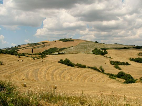 Tuscany near ancient Sienna